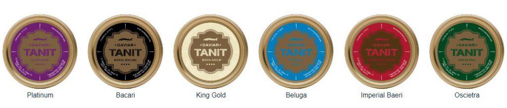 comprar caviar tanit online