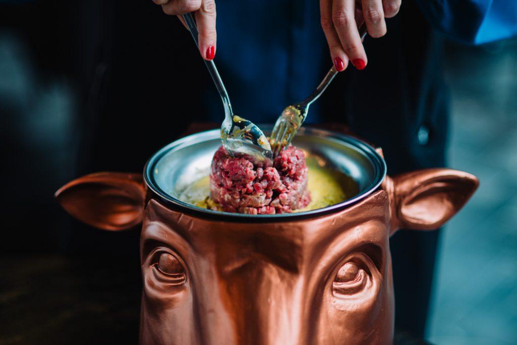 mejor steak tartar en barcelona