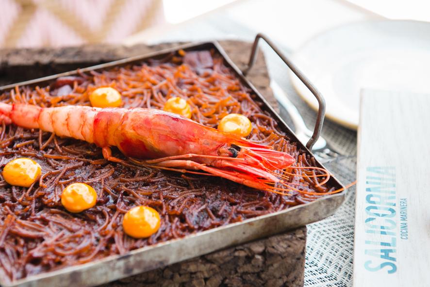 Salicornia restaurante cocina marinera