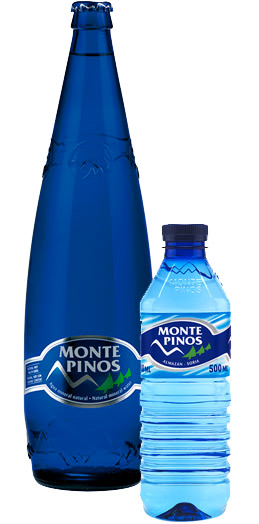 agua mineral natural Monte Pinos